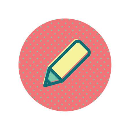 Bewerk pictogram illustratie.