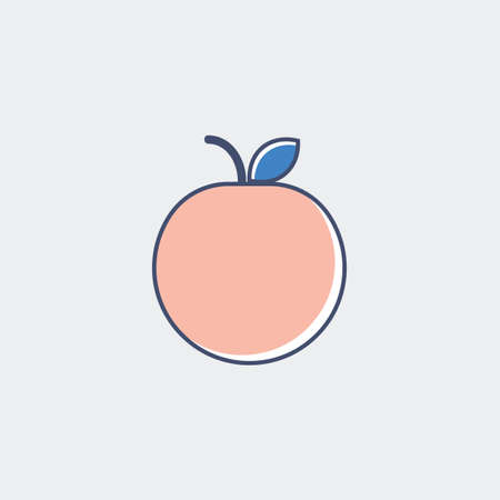 An apple illustration. Stock fotó - 81484694