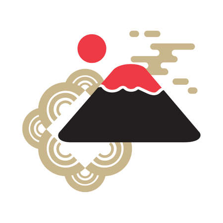 mount fuji Illustration