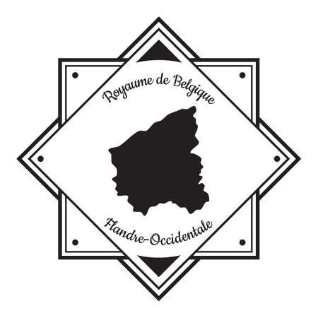 Etichetta geografica Flandre orientale Archivio Fotografico - 81534724