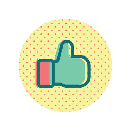 thumbs up icon Ilustrace