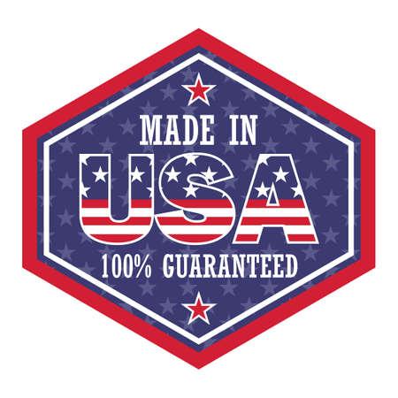 usa product sticker