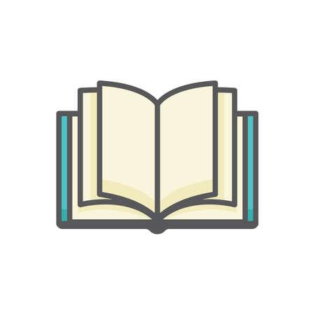 Open book Illustration