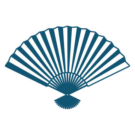 A hand fan illustration.