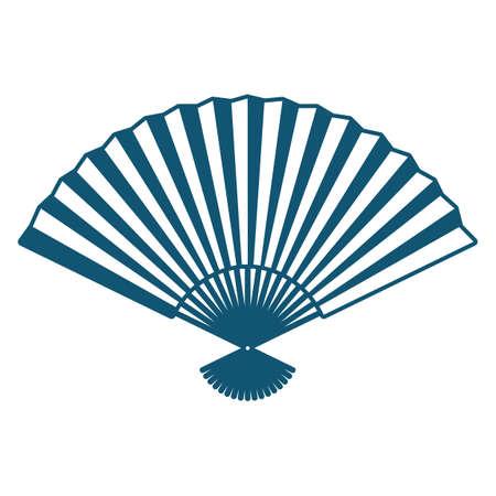 Une illustration de fan de main. Banque d'images - 81484707