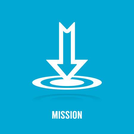 Missionskonzept Standard-Bild - 81534824