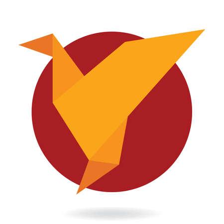 折り紙  イラスト・ベクター素材
