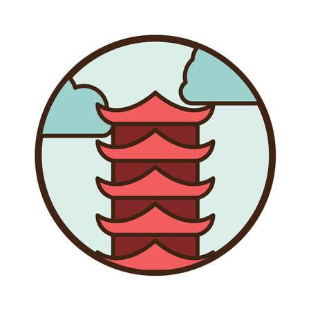 pagoda Çizim