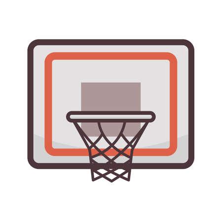 basketball net Illusztráció