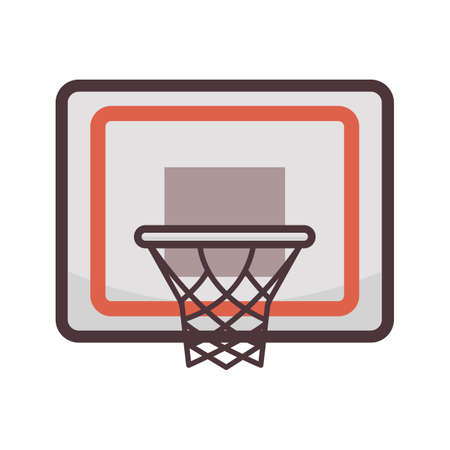 basketball net Illustration