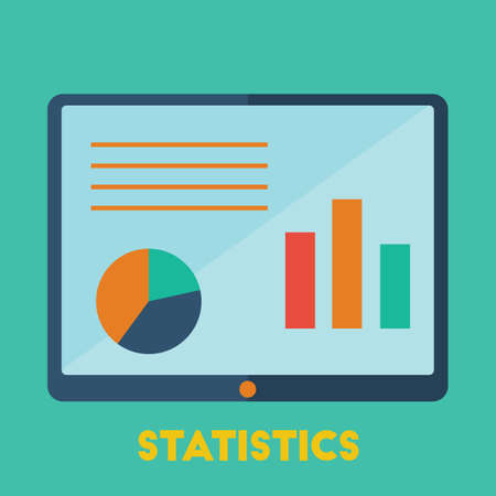 Business statistics Ilustrace