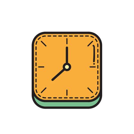 clock icon Stok Fotoğraf - 81483996