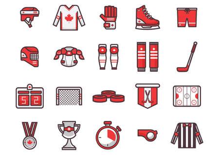 Canada icon set