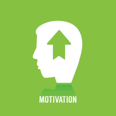 motivation concept Ilustracja