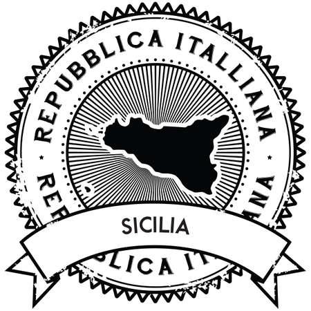 sicilia map label