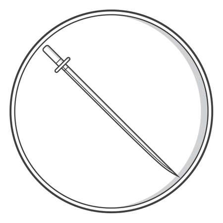 サムライの刀