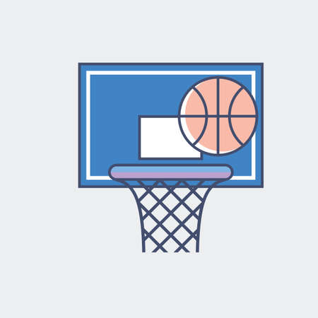 A basketball illustration.