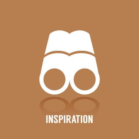 インスピレーションのコンセプト  イラスト・ベクター素材
