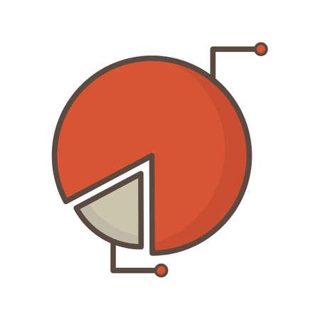 파이 다이어그램 일러스트
