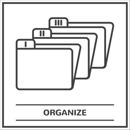 Folders Stock fotó - 81534337