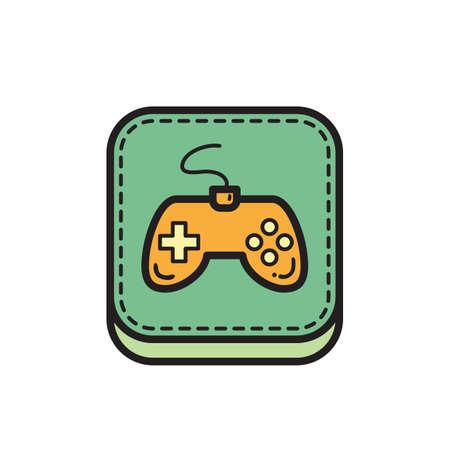 game icon Banco de Imagens - 81484018