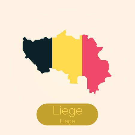 Liege map