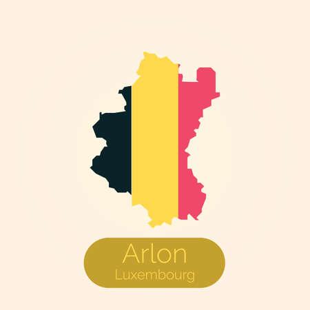 Luxemburg map