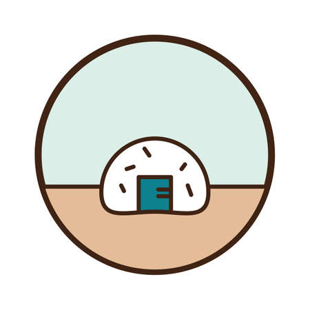 onigiri Ilustração