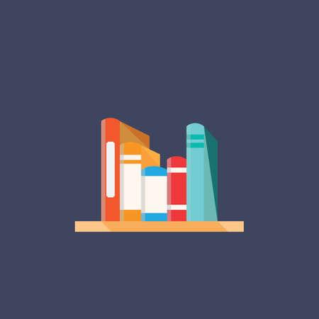 books in the shelf