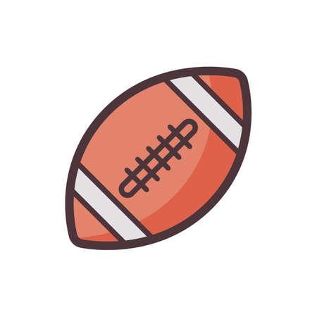 american football Stock Vector - 81484019