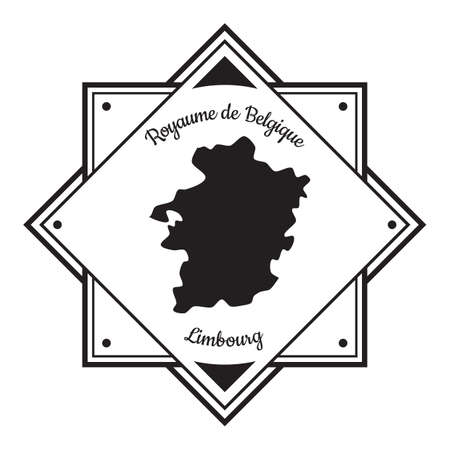 Limbourg map label