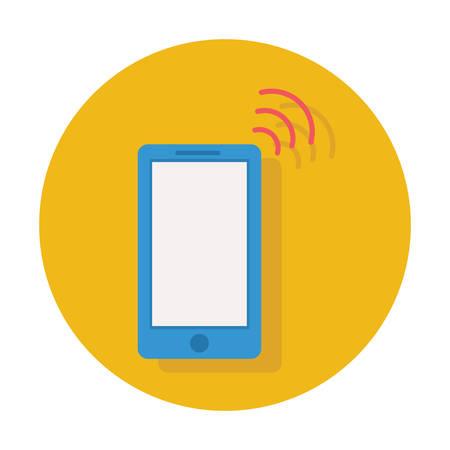 mobile phone signal icon Иллюстрация