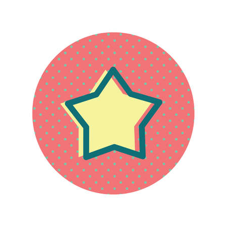 A star icon illustration.