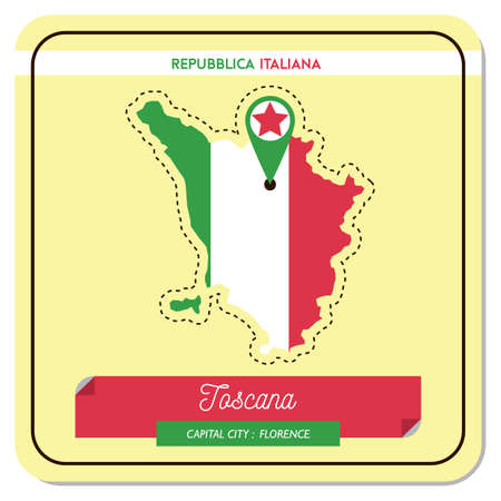 tascana map Иллюстрация