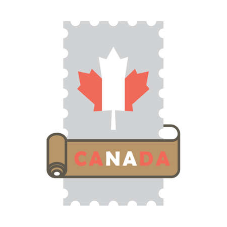 캐나다 우표 일러스트