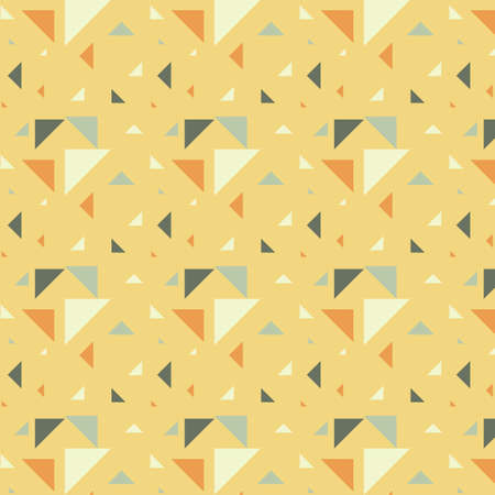 triangular pattern background Illustration