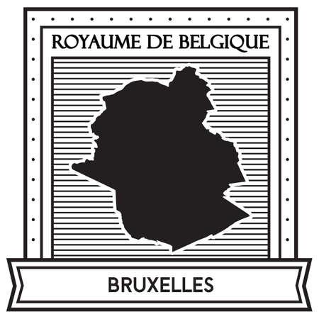 Bruxelles지도