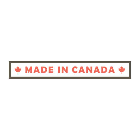 made in canada design Ilustrace