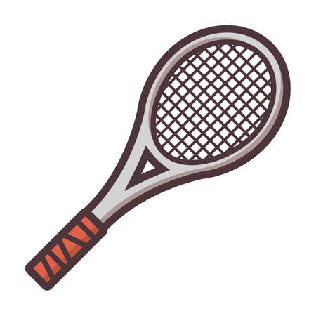 tennis racket Ilustração