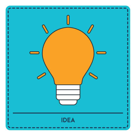 contemplate: bulb Illustration