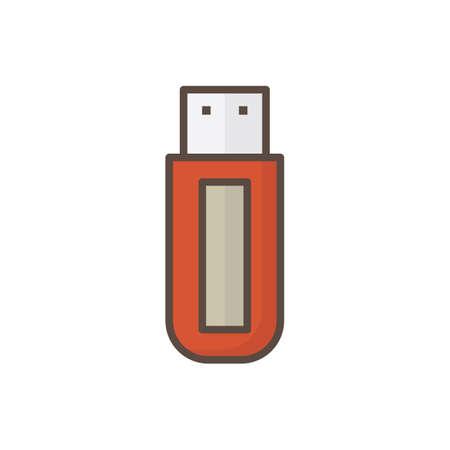 Flash drive USB Archivio Fotografico - 81534780