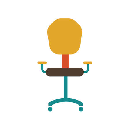 Office chair Ilustrace