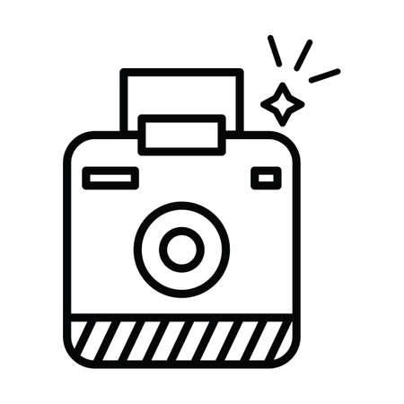 instant camera Stock Vector - 106667722