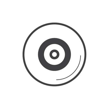 ビニールレコードディスク
