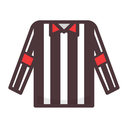 referee shirt 向量圖像