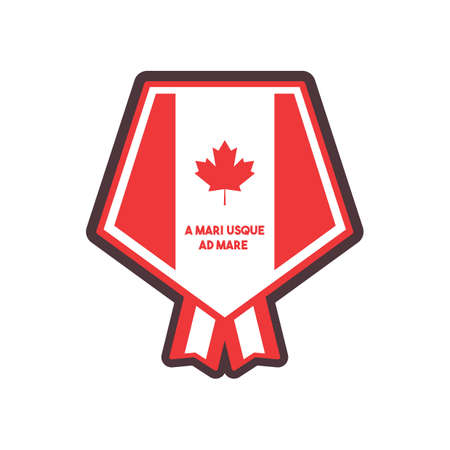 canada label Stock Vector - 81535099