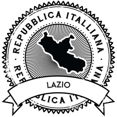 lazio map label