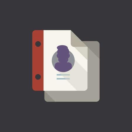 Icona del foglio di documento Archivio Fotografico - 81533843