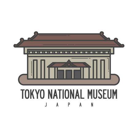 東京国立博物館の図。