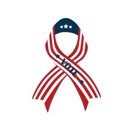 us vote ribbon
